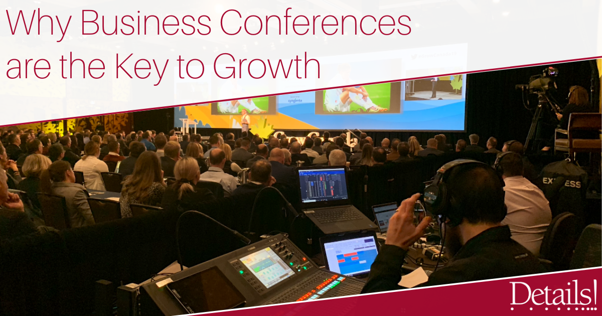 Why Business Conferences are the key to growth image