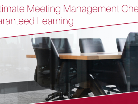 The Ultimate Meeting Management Checklist for Guaranteed Learning Image